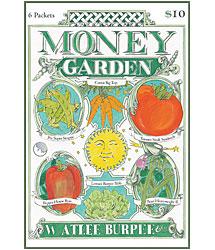 growing a money garden - burpee seed catalog